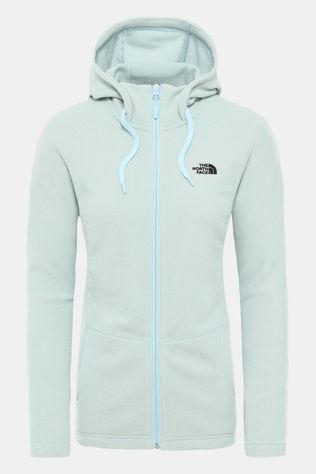The North Face Mezzaluna Full Zip Hoodie Dames Lichtblauw