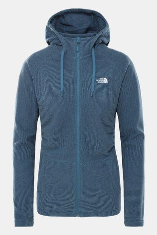 The North Face Mezzaluna Full Zip Hoodie Dames Marineblauw