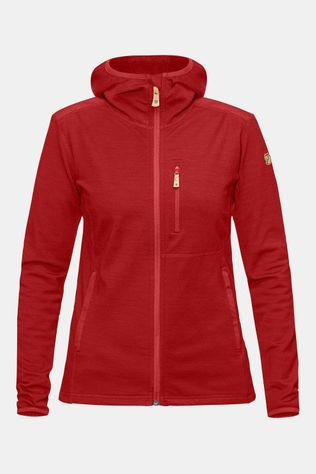 Fjällräven Keb Fleece Vest Dames Donkerrood