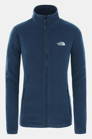 The North Face 100 Glacier Full Zip Vest Dames Indigoblauw/Donkerblauw
