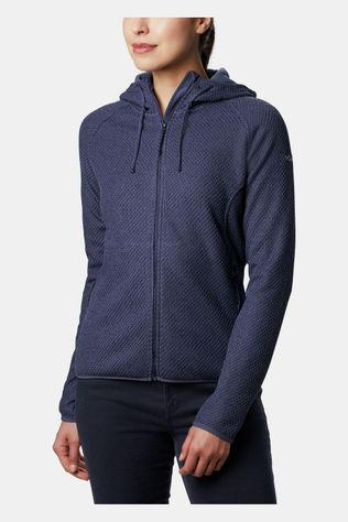 Columbia Pacific Point Full Zip Hoodie Dames Donkerblauw/Marineblauw