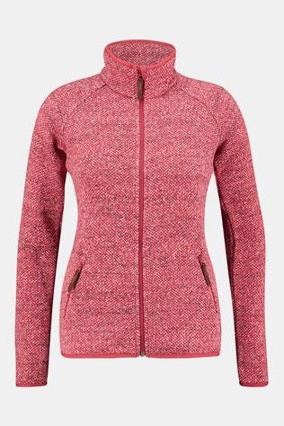 Columbia Chillin Fleece Non Hooded Dames Rood/Middenrood