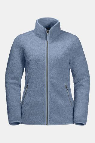 Jack Wolfskin High Cloud Jacket Fleecevest Dames Blauw (Jeans)