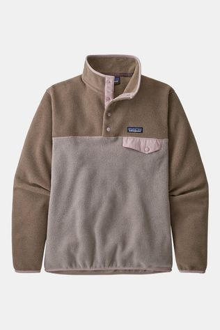 Patagonia Lightweight Synchilla Snap-T Pullover Dames Taupe/Middenbruin