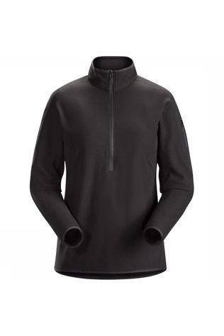 Arc'teryx Delta LT Zip Neck Pully Dames  Zwart