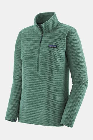 Patagonia R1 Air Zip Neck Pully Dames Petrol