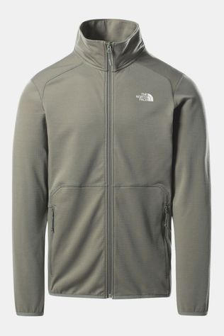 The North Face Quest FZ Fleecevest Lichtgroen