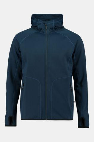 Our Planet Cahar Powerstretch Hooded Vest Donkerblauw