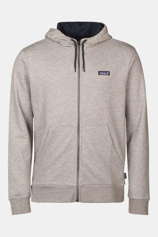 Patagonia P-6 Label French Terry FZ Hoody Lichtgrijs