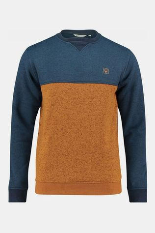 Ayacucho 10Y Medros Crew Sweater Roest/Middenblauw