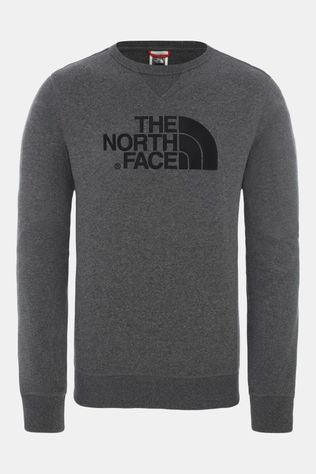 The North Face Drew Peak Crew Light Trui Lichtgrijs Mengeling/Donkergrijs Mengeling
