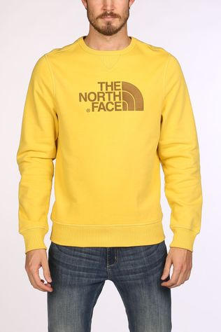 The North Face Drew Peak Trui Middengeel
