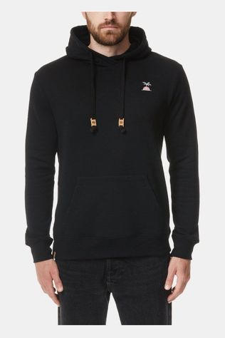 tentree Palm Sunset Embroidery Hoodie Zwart