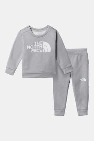 The North Face Infant Surgent Crew Set Junior Lichtgrijs