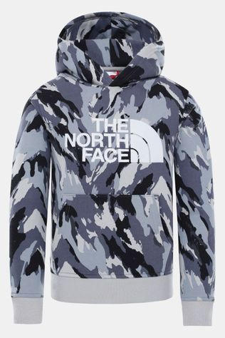 The North Face Drew Peak Hoodie Junior Middengrijs/Ass. Camouflage