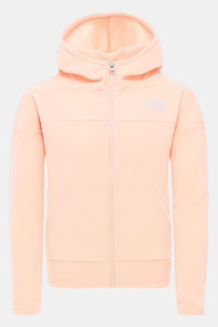 The North Face The North Face Glacier Full Zip Junior Hoodie Lichtroze