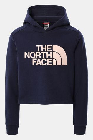 The North Face Drew peak Cropped P/O Hoodie Meisjes Marineblauw