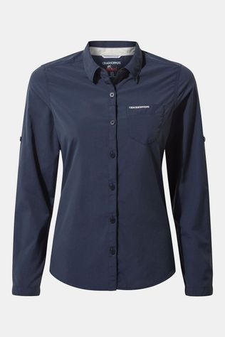 Craghoppers Bardo Long-Sleeved Shirt Dames Blue Navy