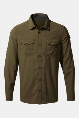 Craghoppers NosiLife Adventure Shirt Donkergroen