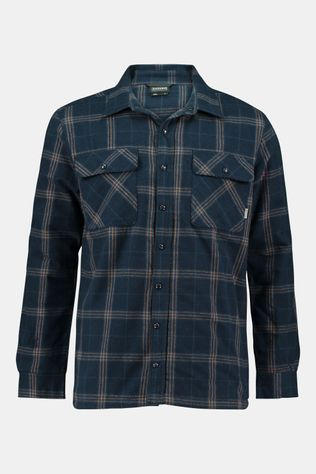 Ayacucho Flannel Padded Shirt Donkerblauw/Lichtbruin