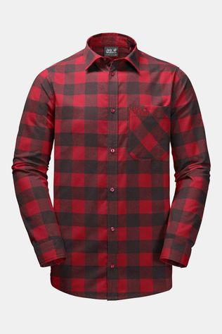Jack Wolfskin Red River Shirt Rood