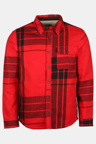 The North Face Campshire Shirt Donkerrood/Zwart