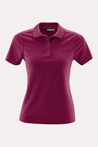 Maier Sports Ulrike Polo Dames Rood