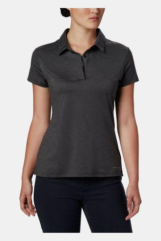 Columbia Bryce Polo Dames Donkergrijs Mengeling