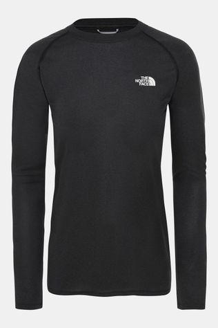 The North Face Reaxion AMP LS Crew Shirt Dames Zwart/Donkergrijs