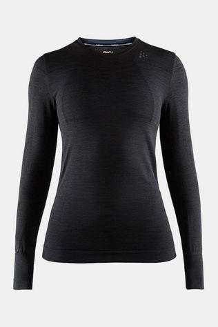 Craft Fuseknit Comfort Rn Ls Thermoshirt Dames Zwart