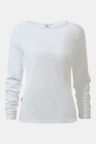 Craghoppers Nosilife Erin Longsleeve Top Dames Wit