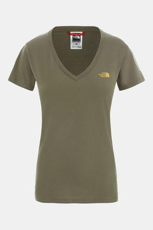 The North Face Simple Dome T-shirt Dames Donkergroen