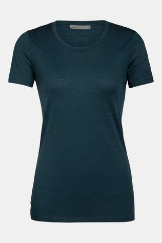 Icebreaker Tech Lite SS Low Crewe T-shirt Dames Groen