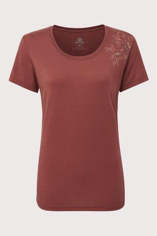 Sherpa Hawa Shirt Dames Bordeaux