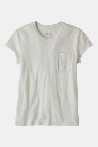Patagonia Mainstay Tee Dames Wit