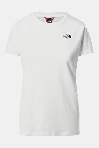 The North Face S/S Simple Dome Tee Dames Wit
