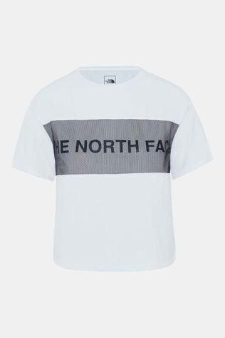 The North Face Train N Logo Shirt Dames Wit