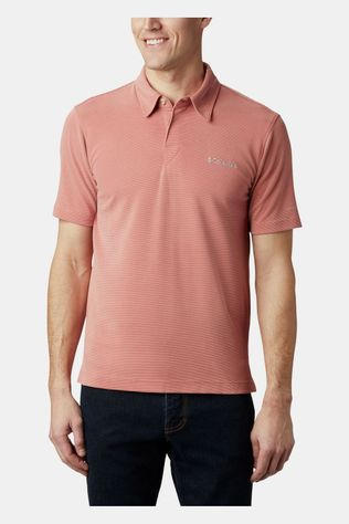 Columbia Sun Ridge Polo Zalmroze