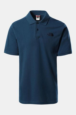 The North Face Polo Piquet Heren Petrol/Middenblauw