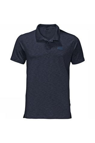 Jack Wolfskin Travel Polo Marineblauw
