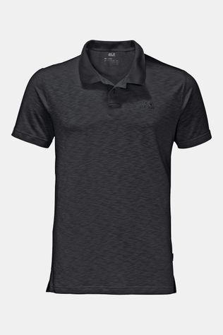 Jack Wolfskin Travel Polo Zwart