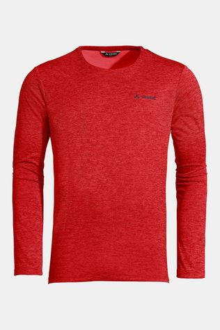 Vaude Essential LS Shirt Donkerrood