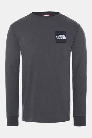 The North Face Boruda Shirt met Lange Mouwen Donkergrijs