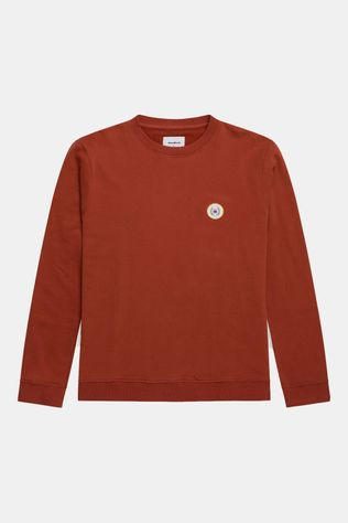 woodbird Ourganic Braxy Patch Crew Donkerrood