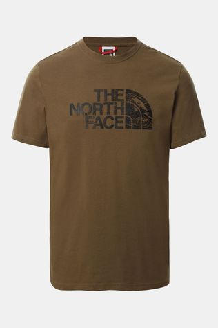 The North Face Woodcut Dome T-Shirt Middenkaki
