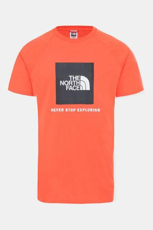 The North Face S/S Rared Box T-shirt Middenrood