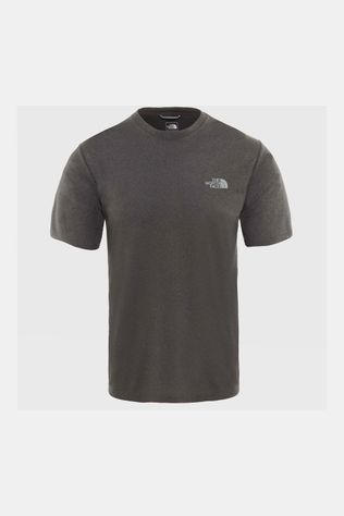 The North Face Reaxion Ampere Crew Shirt Donkergrijs Mengeling