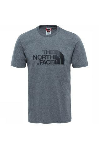 The North Face Easy Tee T-shirt Lichtgrijs Mengeling