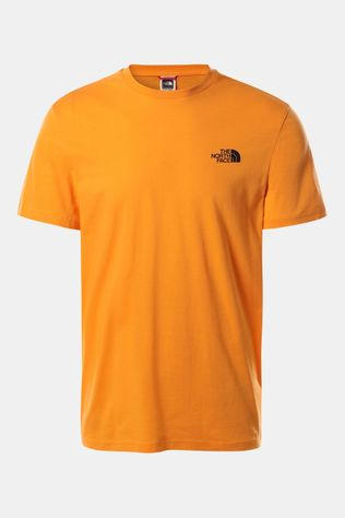 The North Face Simple Dome SS Shirt Oranje/Koper