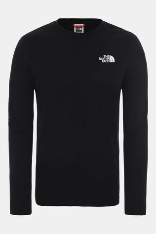 The North Face L/S Red Box Tee Zwart
